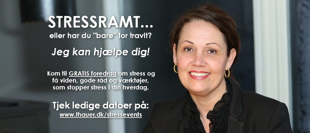 www.thauer.dk_Stressekspert Rikke Maj Thauer